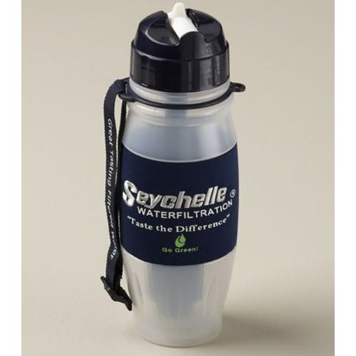 Botella Filtrante de Agua Seychelle Advanced.